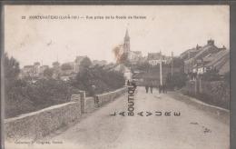 44 - PONTCHATEAU--Vue Prise De La Route De Nantes--animé - Pontchâteau