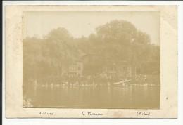 Photo Originale , La Varenne ( 94 ) , Août 1903 , Signée Laclais , 11,3 X 8 - Lugares