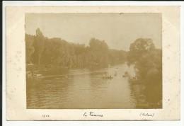 Photo Originale , La Varenne ( 94 ) , 1903 , Signée Laclais , 11 X 7,8 - Lugares