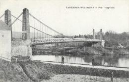 Varennes-Jaulonne (Aisne) - Pont Suspendu -  Edition Dufresnois - Other Municipalities