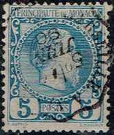 Monaco - 1885 - Y&T N°3, Oblitéré - Monaco