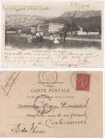 LA SAINTE BAUME  - Vue Générale  - Cachet Perlé De ROUGIERS (Var) Indice 5 (76019) - France