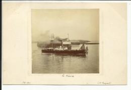 Photo Originale , LE HAVRE , Signé Par Mr Rouzaud En Septembre 1901 , 7,7 X 7,3 - Boats