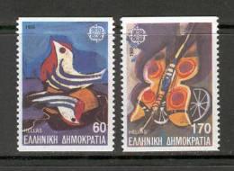 GREECE 1989 (Vl 1778A-1779A) Europa CEPT Imperforate MNH - Neufs