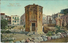 GRECE GREECE GRIECHENLAND ATHENES ATHENS ATHEN TEMPLE EOLE - Grecia