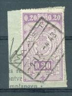 """BELGIE - OBP Nr TR 237 (fragment) - Cachet """"NAAST"""" - (ref. VL-5225) - 1923-1941"""