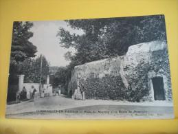 95 47 - CPA - CORMEILLES EN PARISIS - PLACE DU MARTRAY ET LA ROUTE DE MONTIGNY - ANIMATION (EDITION A. DURANTON) - Cormeilles En Parisis