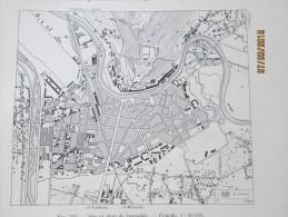 Plan De  GRENOBLE  1940 - Maps