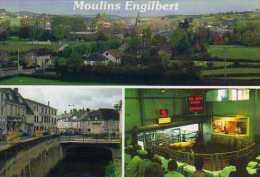 58 MOULINS ENGILBERT La Ville Et La Marche Au Cadran - Moulin Engilbert