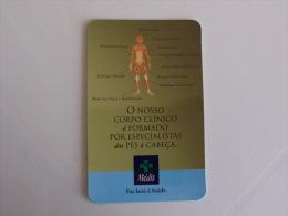 Insurance/ Assurances/ Seguros Médis Saúde - Portugal Portuguese Pocket Calendar 2001 - Calendarios
