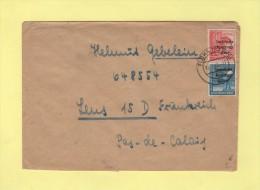 Fluha - 1948 - Destination Depot De Prisonniers De Guerre Allemands A Lens - Allemagne