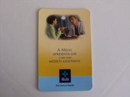 Insurance/ Assurances/ Seguros Médis Saúde - Portugal Portuguese Pocket Calendar 2002 - Calendarios