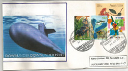 Holbrook Submarine Museum, NSW, Letter To New-Zealand - Militaria