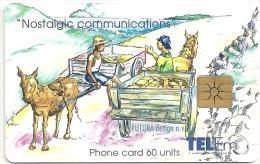 Netherlands Antilles - St. Maarten Tel-Em Nostalgic Communications, 60 Units, Used - Antilles (Netherlands)