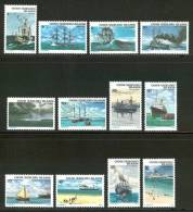 1976 Isole Cocos Navi Boats Ships Bateaux Navires Set MNH** B34 - Isole Cocos (Keeling)