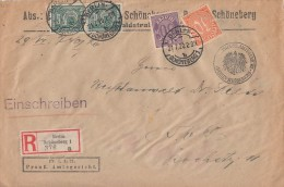 DR R-Dienst-Ortsbrief Mif Minr.2x 16,30,29 Berlin 21.7.20 - Dienstpost