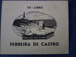 Ex Libris. Ferreira De Castro. - Ex-libris