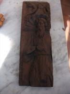 Antique Panneau De Bois Pour Saint ..... - Religion & Esotérisme