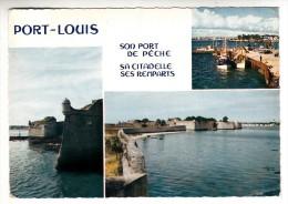 56 - Port Louis - Son Port De Pêche, Sa Citadelle, Ses Remparts - Multi-vues - Editeur: Jos N° 5150 - Port Louis