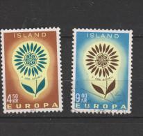 Yvert 340 / 341 Europa - 1944-... Republique