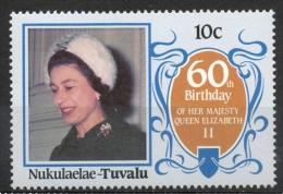 Tuvalu Nukulaelae 1986 - Regina Elisabetta II Queen Elizabeth II MNH ** - Tuvalu