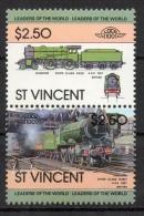 St. Vincent 1983 - Locomotive Ferroviarie Railway Locomotives Treni Trains MNH ** - St.Vincent (1979-...)