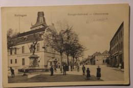Cpa Ratingen Kriegerdenkmal Oberstrasse 1923 - LC12 - Ratingen