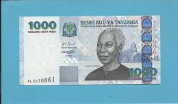 TANZANIA - 1 000 SHILINGI - ND (2003) - UNC. - P 36 - Sign. 14 - Serie AL - Julius Nyerere / Palace - BENKI KUU YA - Tanzanie