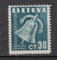 ##29, Lituanie, Lietuva, Cloche De La Liberté, Liberty Bell - Litouwen