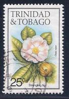 Trinidad & Tobago, Scott # 396 Used Strangling Fig Flower,1983 - Trinidad & Tobago (1962-...)