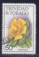Trinidad & Tobago, Scott # 398 Used Chalice Flower,1983 - Trinidad & Tobago (1962-...)