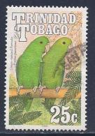 Trinidad & Tobago, Scott # 510 Used Parrots, 1990 - Trinidad & Tobago (1962-...)