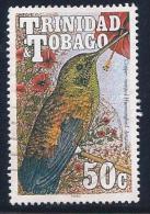 Trinidad & Tobago, Scott # 512 Used Hummingbird, 1990 - Trinidad & Tobago (1962-...)