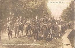 Detachement De Dragons  à L'embuscade-recto.verso - Guerre 1914-18