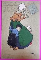 Cpa N° 139 Illustrateur M M Vienne 1904 Carte Postale Enfants Scène Hollandaise Peur Souris - Vienne