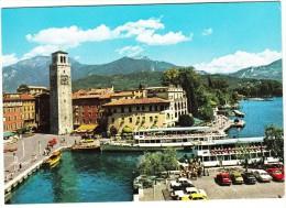 Riva: OPEL MANTA-A, FORD CONSUL/GRANADA, FORD MUSTANG FASTBACK MACH 1 - Il Porto , Lago Di Garda, Italia - Turismo