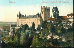 SEGOVIA Alcazar Fachada Del Poniente Um 1910 - Segovia