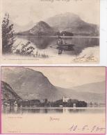 2  CPA  D' ANNECY  -  DUINGT - Annecy