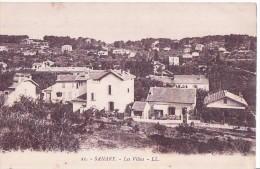Sanary - ** Magnifique Cpa Non écrite ( Rte De Port Issol & Résistance à Droite) **  - Ed. L.L N°21 - Sanary-sur-Mer