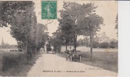 28 -HOUVILLE -avenue De La Gare - Other Municipalities