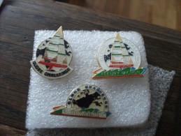 3 Pins Bateau Fleury Michon Globe Challenge - Barche