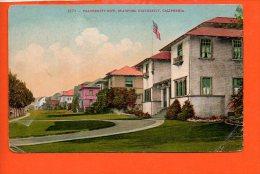 Fraternity Row, STANFORD University, CALIFORNIA (pli Coin Droit) - Etats-Unis