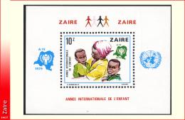 Zaire BL 034**  Année De L'enfant  MNH - 1971-79: Neufs
