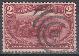 United States    Scott No  286   Used     Year  1898 - Oblitérés