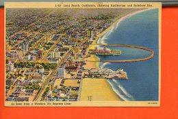 Long Beach, CALIFORNIA, Showing Auditorium And Rainbow Pier. - Long Beach