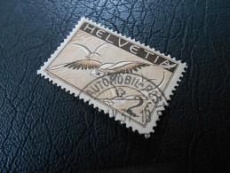 CH ZNr.13z   2Fr.  Flugpost  Taube Papier Geriffelt 1935 - Airmail