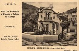 52Pt  Portugal Dos Pequenitos Coimbra Proteccao à Gravida E Defesa Da Criança Casa Da Beira Baixa - Coimbra