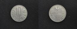 1972 - 10 GROSCHEN - AUTRICHE - AUSTRIA - Autriche