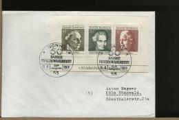 GERMANY  -  FOGLIETTO  FRAUEN WAHLRECHT - Storia Postale