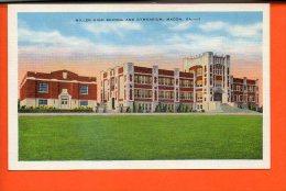 Miller High School And Gymnasium, MACON, GA. - Etats-Unis